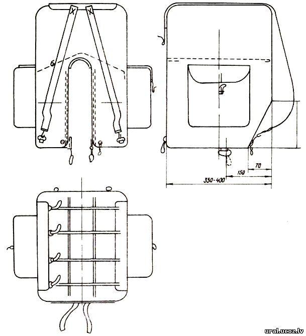 Рюкзак для рыбалки своими руками выкройка 14